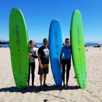 Surfing with The Boys