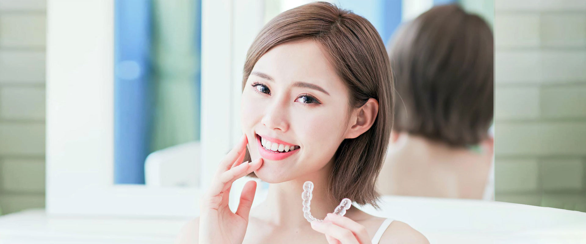 Complimentary Whitening Tray with Invisalign Treatment